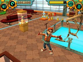 За да запази интереса на децата, играта предлага богато разнообразие от пъзели и висококачествена компютърна графика.